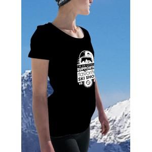 T Shirt Solidaire Femme